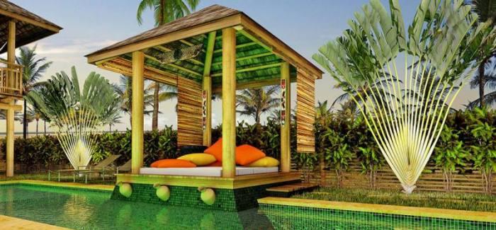 کاربرد آلاچیق در طراحی فضای سبز