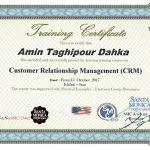 گواهینامه بین المللی آموزش مجازی مدیریت ارتباط با مشتری CRM