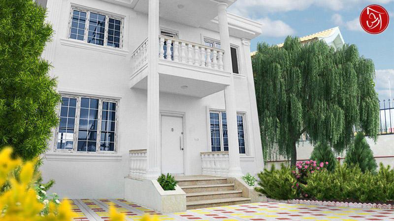 ویلا دوبلکس زیباکنار کد-705