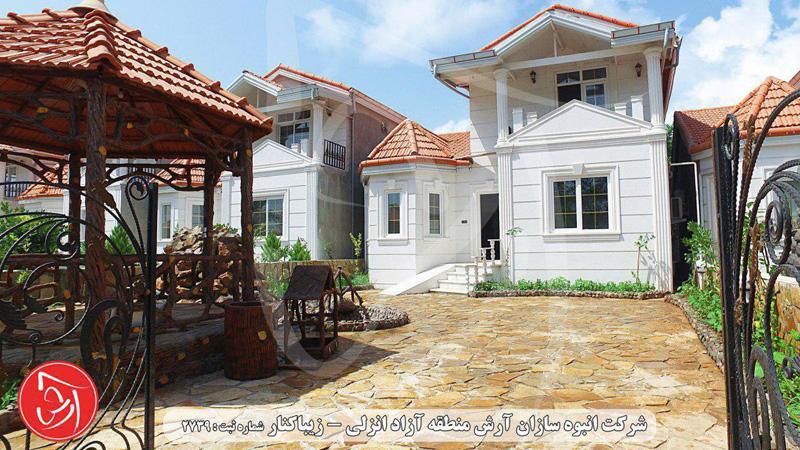 ویلا شهرکی آرش کد 604
