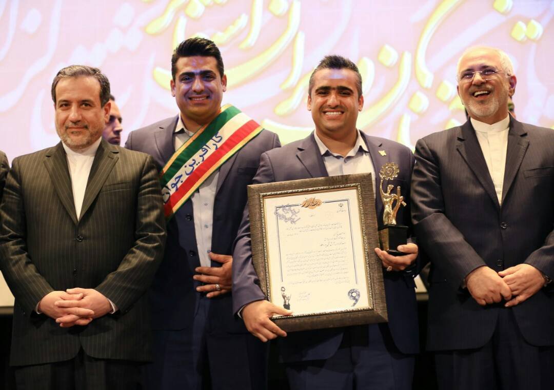 آقای امین تقی پور بعنوانجوانترین کارآفرین کشور
