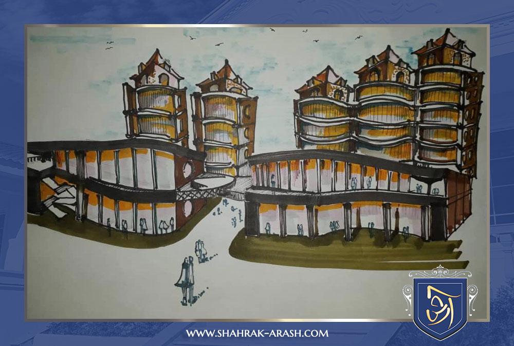 1111 - مجتمع جدید تجاری ، مسکونی و تفریحی شرکت انبوه سازان آرش