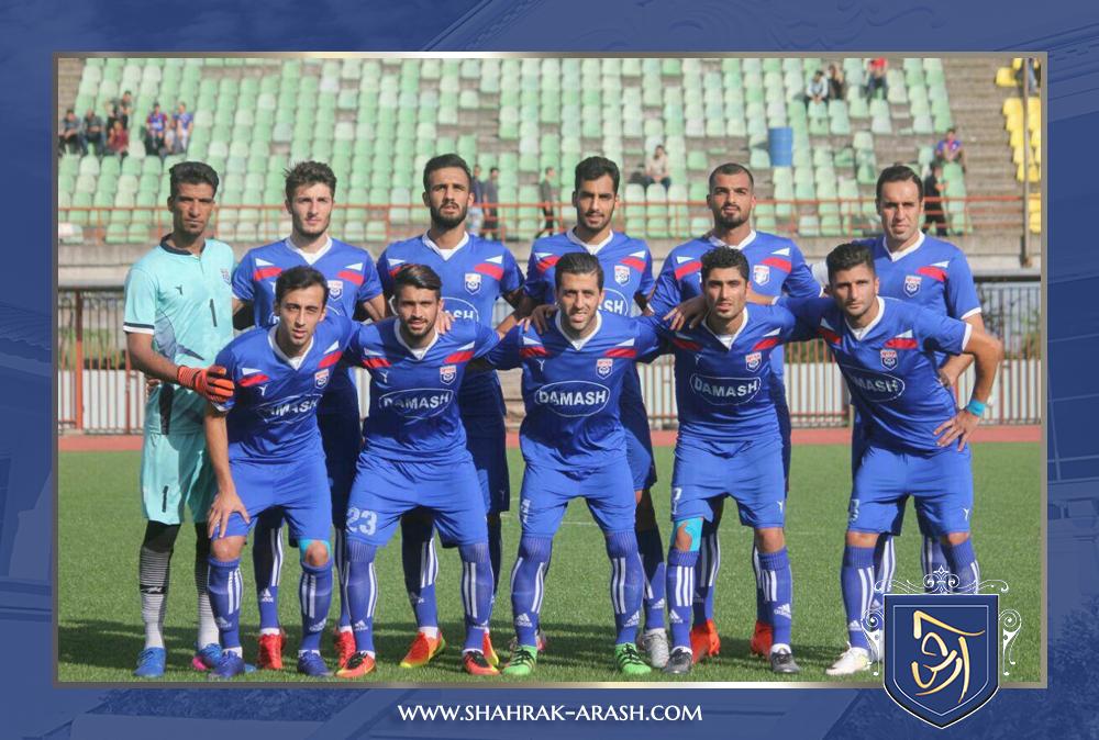 tim damash - راه یابی تیم داماش گیلان به نیمه نهایی جام حذفی فوتبال با حمایت شرکت انبوه سازان آرش