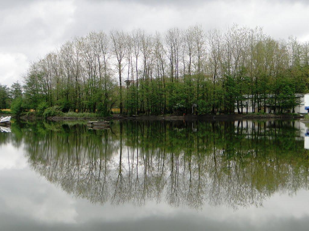 رودخانه اوشمک زیباکنار