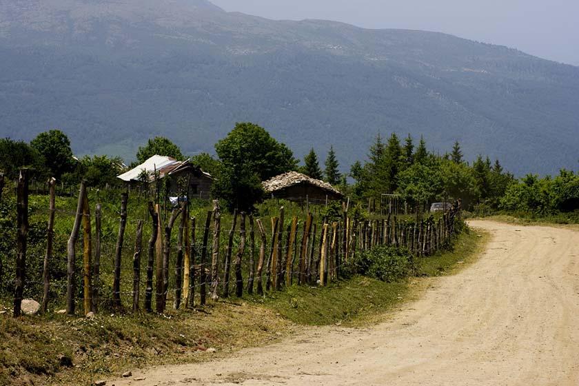 روستای مازیچال در کلاردشت