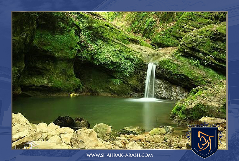 آبشار ها و دریاچه های مازندران