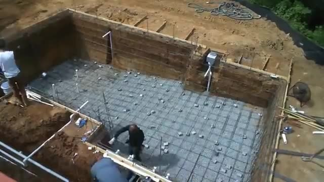 ساخت استخر در ویلا