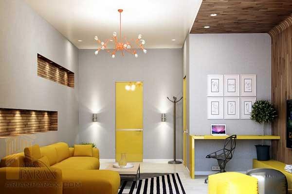 رنگ در دکوراسیون داخلی ویلا