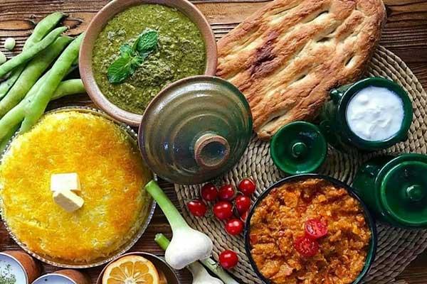 رستوران های شمال با غذاهای محلی