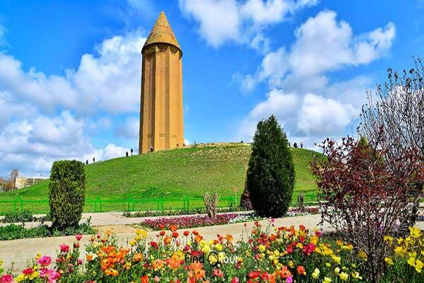 برج گنبد قابوس