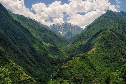کوه های مازندران