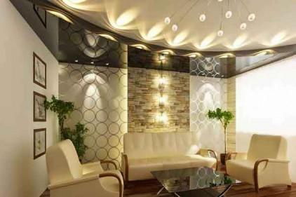 نورپردازی سقف در ویلا