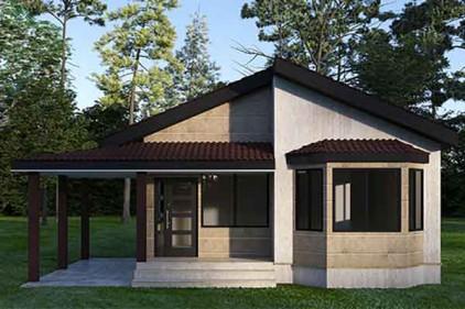 سقف برای باغ ویلا